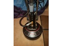 Rotovac 360i rotary carpet cleaning scrubber