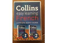 French revision books, dictionary and audio course