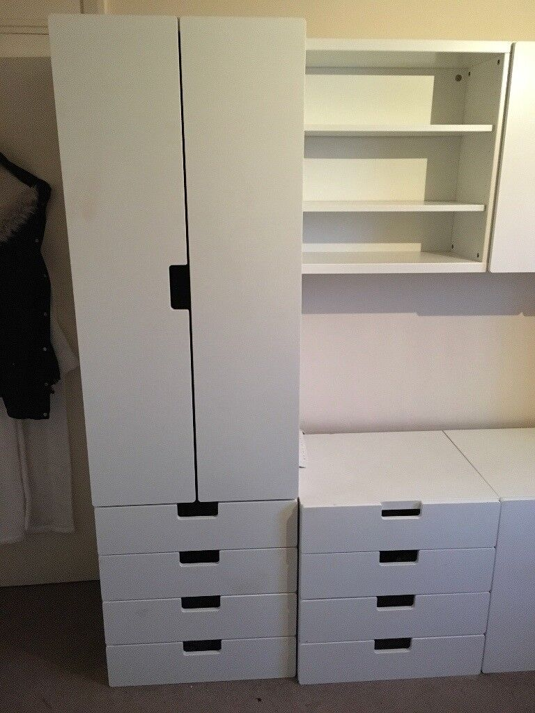 Ikea Stuva Childrens Bedroom Furniture White In