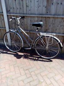 Ladies Raleigh Pioneer Bike.