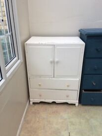 Painted - White chest of drawers