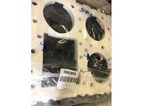 New Whirlpool AKM359/NE Ceramic Electric Hob - cracked but working