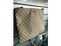Gucci large messenger bag, with dust cover & tags