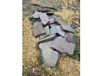Slate Stepping / Rockery stones - Derby City Centre