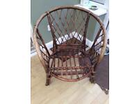 Two wicker chairs (as photo)