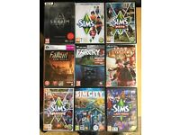 PC windows games bundle of nine for sale