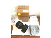 For Sale - Nikon AF-S Nikkor 50mm f/1.8G Lens - As New/Mint Condition