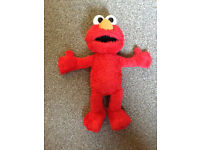 Elmo Sesame Street Talking,Gigling and Vibrates
