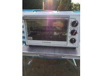 Cook works mini oven with hob for sale