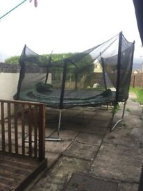 12ft trampoline free for collection