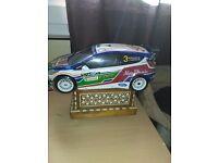 Nikko Ford Fiesta Rally Car Remote Control 1/16