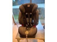 Britax baby car seat. Suitable from 6 months old (9kg to 36 kg)