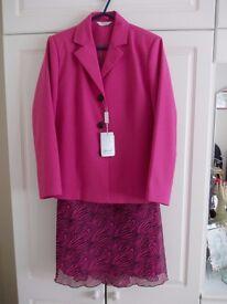 Matching jacket and skirt