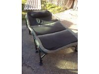 Space Tackle Double Wide boy Bed Chair Carp Fishing