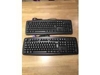 2x keyboards