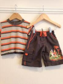 *** 6-12 months BRAND NEW set, top and shorts ***