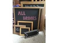 Chalk boards for wedding