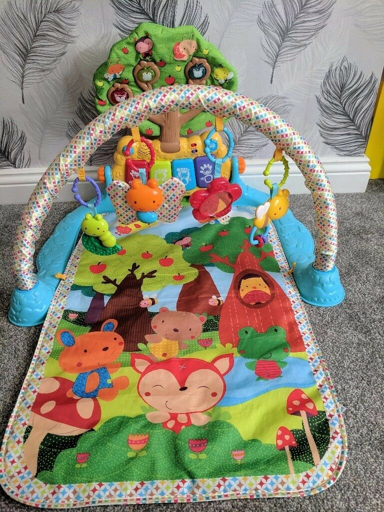 Vtech glow and giggle playmat gym