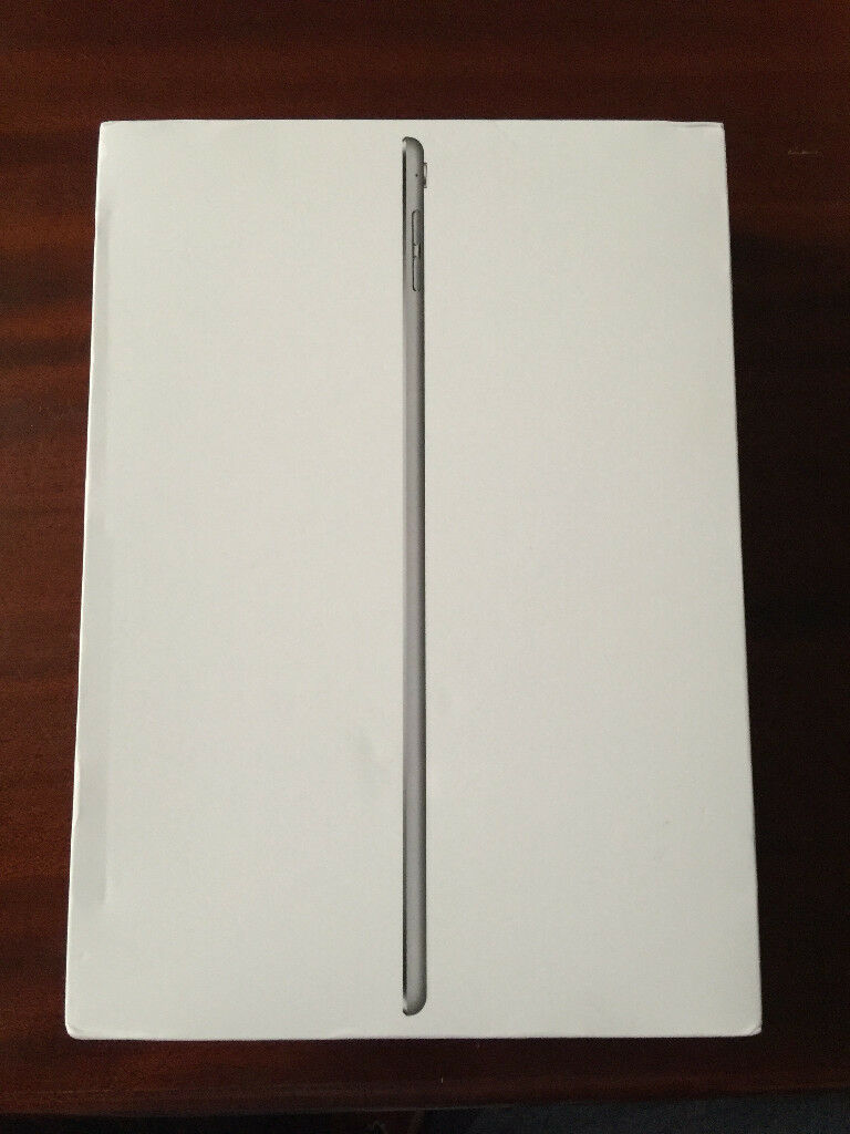Apple iPad Pro 128GB. 9.7 INCH, SPACE GREY, WiFi. BOXED. APPLE WARRANTY