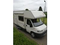 Motorhome For Hire in Ormiston - Now Available For Holidays