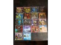 18 Iron Maiden cd's