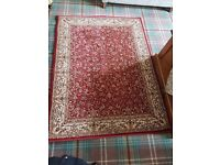 Set of 4 matching traditional rugs