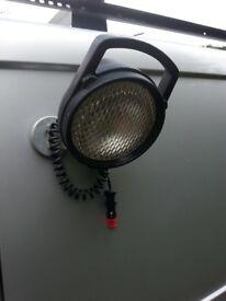 Spot light 12v magnetic . Additional task / work light
