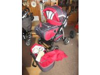 baby merc junior buggy pram