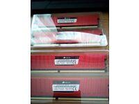 16GB 4x4 Corsair Vengeance LP DDR3 RAM