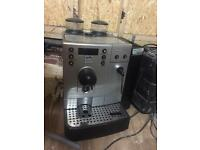 Coffee machine for sale hardly used as to close down of business looking for fast sale