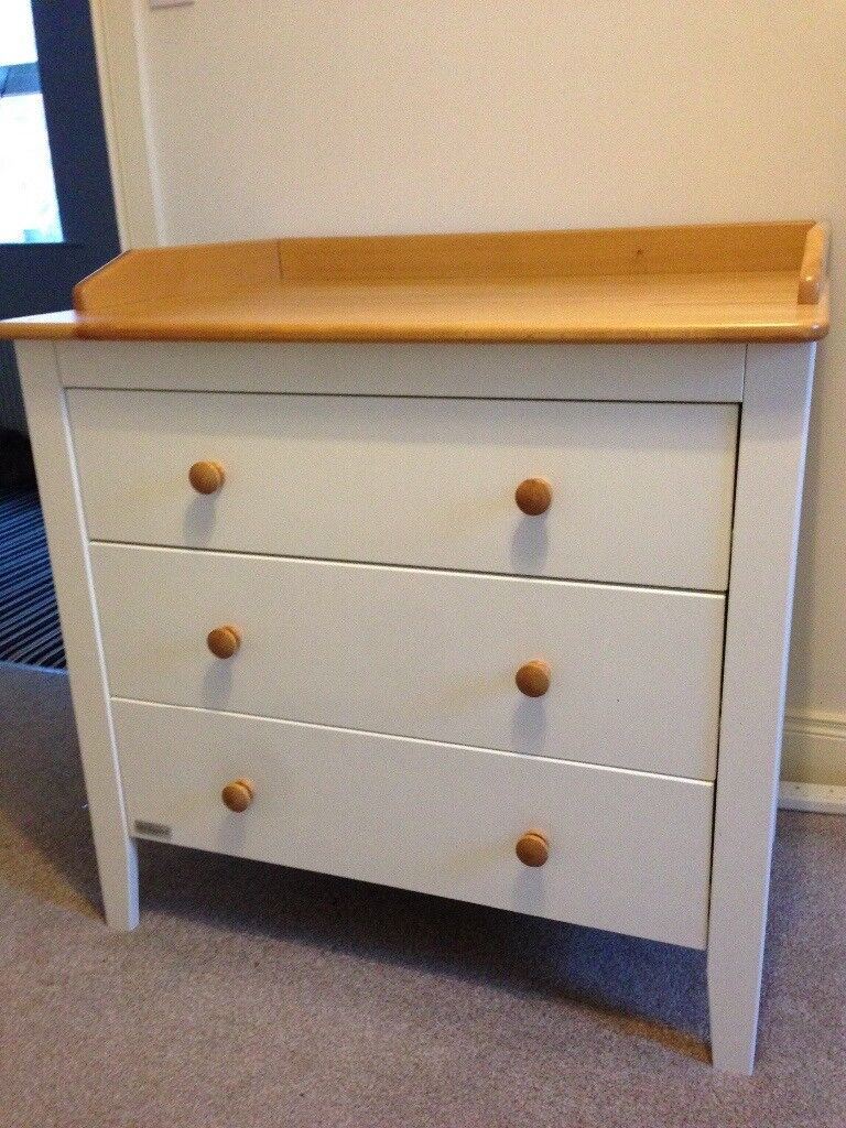 White Nursery Furniture Baby Elegance Small Wardrobe And Chest Of Drawers In Ormeau Road Belfast Gumtree