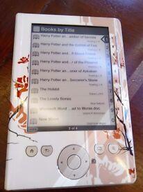 Sony ereader / e-book
