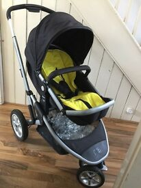 Mothercare Xpedior 3 Wheel Travel System (2015 edition)