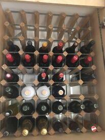 Wine rack (for 48 bottles)