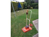 Flymo electric lawnmower in good working order. 30cm cutting width. Model number XE 30.