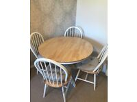 Dining Table & Chairs Great Condition