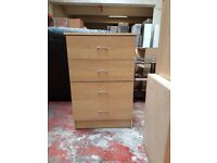 MEGA BARGAIN!! Assorted chest of drawers!! Ex display good condition!!