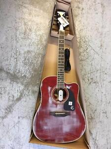 Epiphone EEPUWRCH1 PRO-1 Acoustic/Electric Guitar - Wine Red Mix