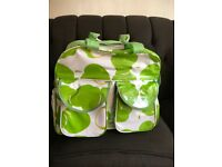 WIPEABLE GREEN APPLE DESIGN BABY CHANGING BAG