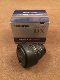Tokina 11-16mm dx ii (nikon fit)