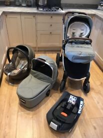 BEAUTIFUL MAMAS AND PAPAS OCARRO PUSHCHAIR FOR SALE - SAGE GREEN