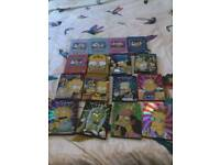 The simpsons dvds