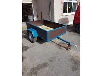 New 6x4 car trailer