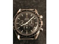 Omega Speedmaster enthusiast looking for vintage watches and parts to buy in any condition