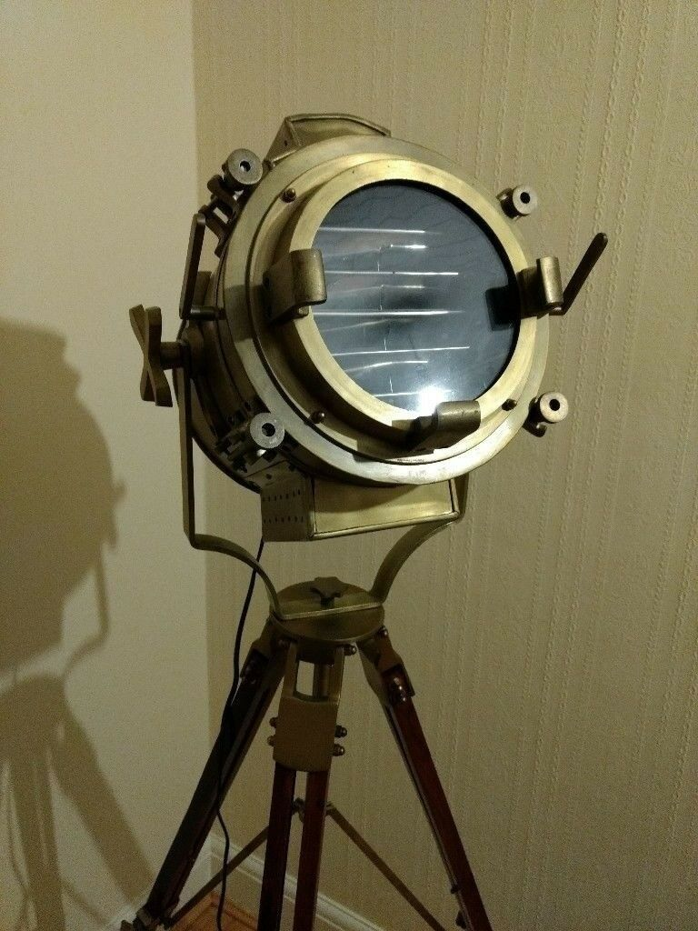 Hollywood Antique Heavy Classic Spot Light Search Light
