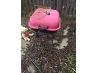 Well used free items - BBQ , trampoline , table , swing chair