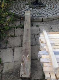 8x8 2.4m fence post