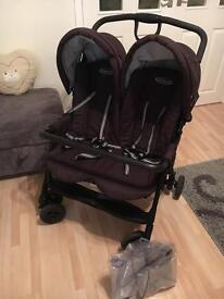 Excellent Condition Double Buggy / Pram / Pushchair