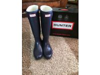 Women's Genuine Hunter Wellies Original Tall Size 7