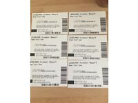 X6 LEGOLAND open dated tickets
